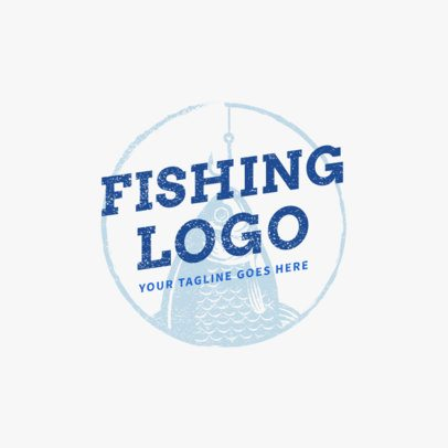 Fishing Hook Logo Template 1792d