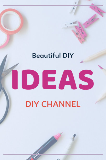 Pinterest Pin Maker for a DIY Channel 1121c