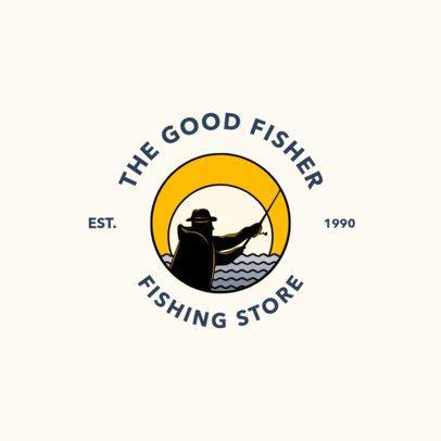 Fishing Store Logo Maker 1793b