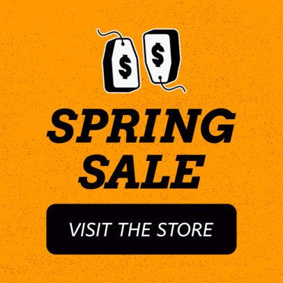 Huge Spring Sale Banner Design Template 755c