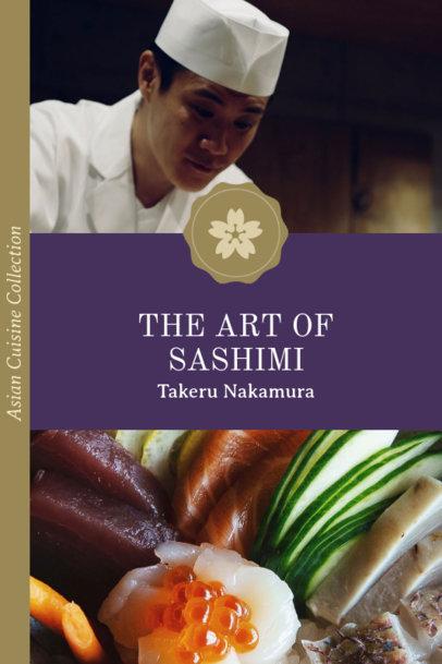 Recipe Book Cover Maker for Elegant Japanese Food 916e