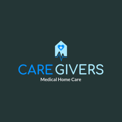 Logo Maker for a Home Health Care Logo 1805a