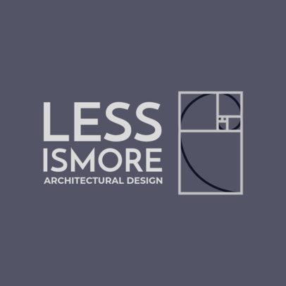 Architect Logo Maker in Black and White 1210i