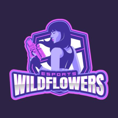 Gaming Logo Maker for a Women's Guild 1744c