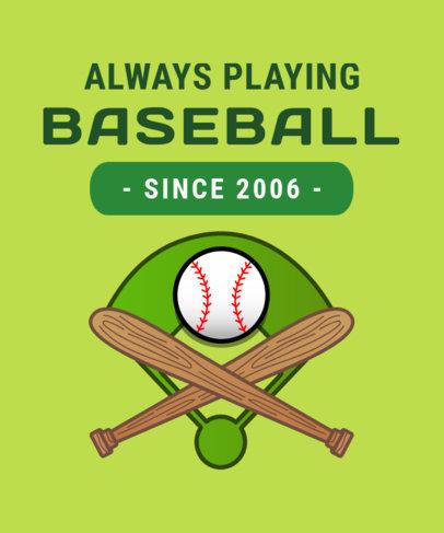 Baseball Fan T-Shirt Design Maker 906f
