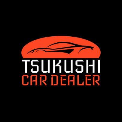 Car Dealer Logo Maker 1406a