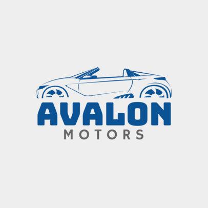 Motor Experts Online Logo Maker 1406b