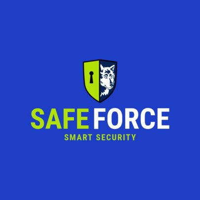 Security Logo Maker with Funny Shield Icon 1788e