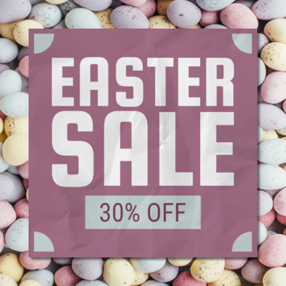 Banner Design Maker for a Special Easter Sale 546f