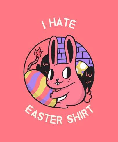 Ironic Easter T-Shirt Design 830f