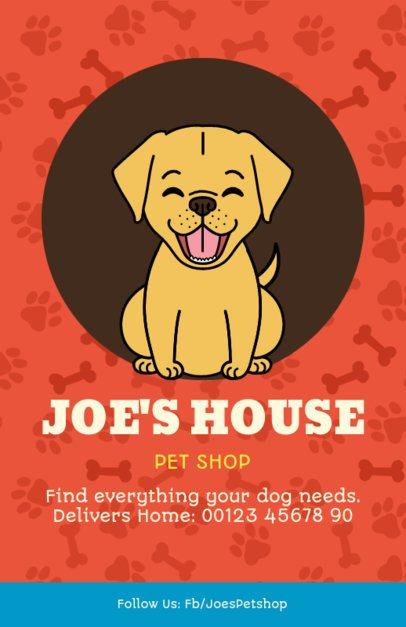 Online Flyer Maker for a Pet Shop 396d