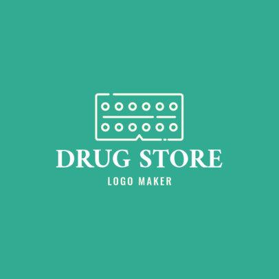 Pharmacy Logo Maker for Drug Stores 1857b