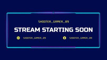 Twitch Stream Starting Soon Overlay Maker 1226