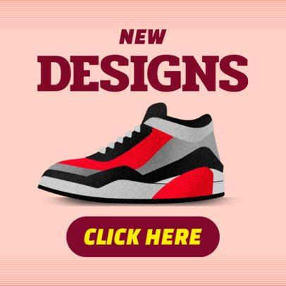 Online Banner Maker for New Tennis Shoes Designs 538e