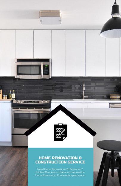 Flyer Design Maker for a Home Renovation Service 285d