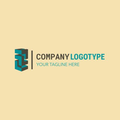 Company Logo Maker for a Corporation 1517e