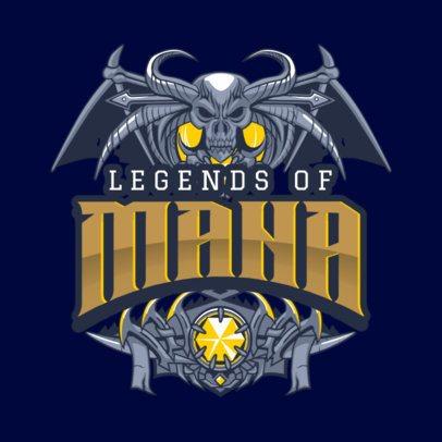Epic Logo Maker for a Fantasy RPG 1878
