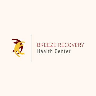 Simple Logo Creator for Rehab Clinics 1504b
