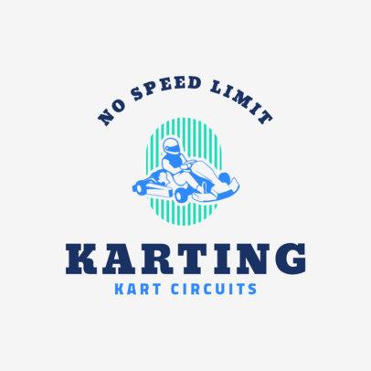 Racing Logo Maker for a Kart Team 1647e