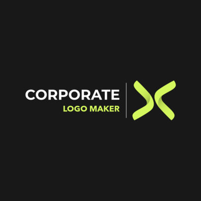 Abstract Logo Design Creator for Corporate Businesses 1530c