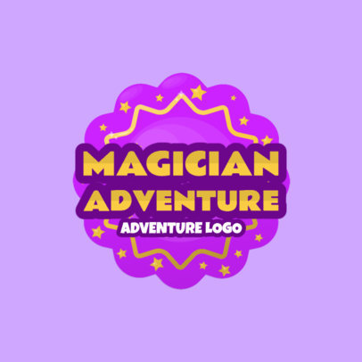 Gaming Logo Template for a Fantasy Adventure Game 1875c
