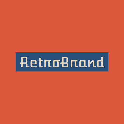 Vintage Clothing Brand Logo Generator 1936c