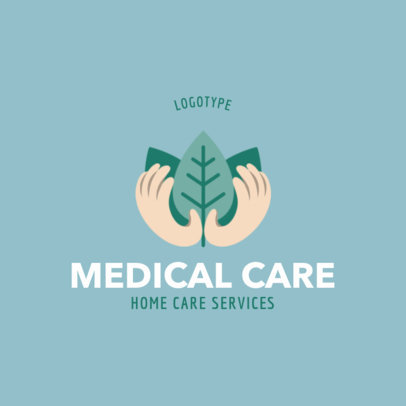 Logo Maker for a Natural Medical Care Service 1802d