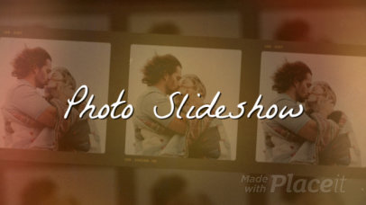 Photo Slideshow Video Maker with Vintage Effects 1312