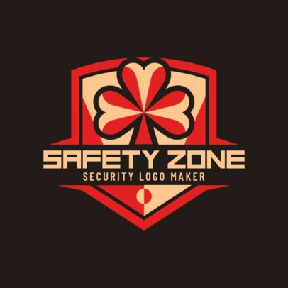 Security Company Logo Maker with Shield Clipart 1787e