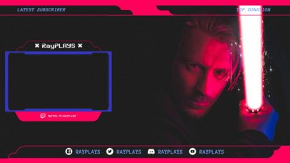 Twitch OBS Overlay Maker for Gamers 1249e