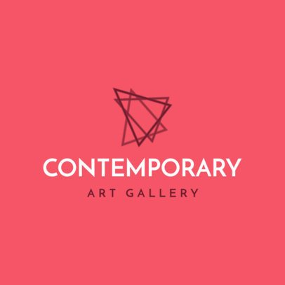 Logo Creator for a Contemporary Art Gallery 1209h