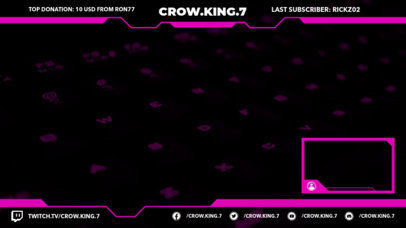 Twitch Overlay Creator for Bold Streamers 1245d