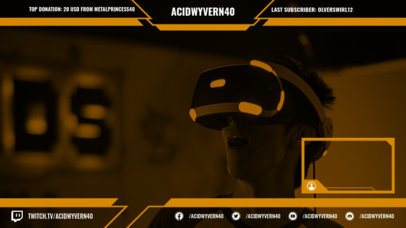 Dynamic Overlay Maker for a Twitch Streamer 1245e