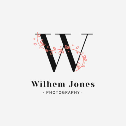 Professional Photographer Logo Maker with a Sophisticated Design