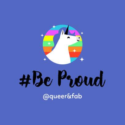 Instagram Post Design Maker for LGBT Community 1023c