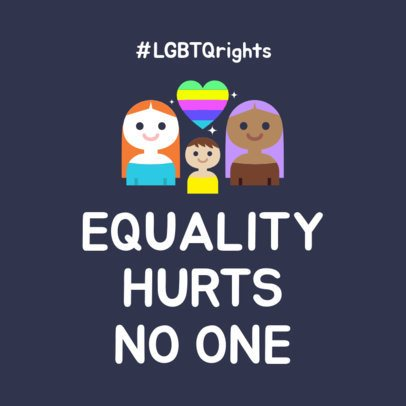 Instagram Post Maker for LGBTQ Rights 1023d