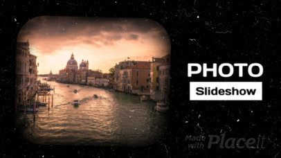 Photo Slideshow Video Maker with Vintage Film Effects 1306
