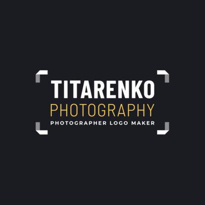 Photographer Logo Maker   Online Logo Maker   Placeit