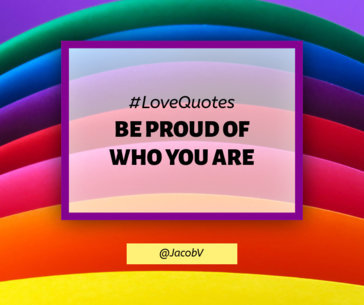 Facebook Post Maker for a Pride-Themed Message 1298a