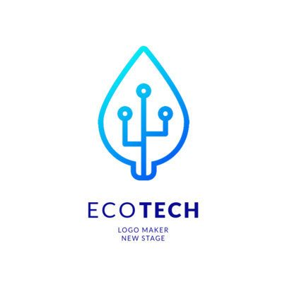 Online Logo Maker for Green Tech Companies 2176