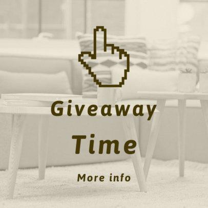 Giveaway Online Banner Generator 753c