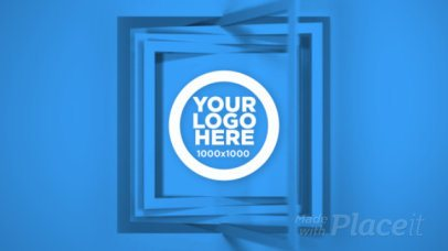 Intro Video Maker of a Logo Reveal With an Animated Squared Frame 1512