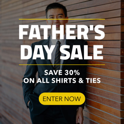 Banner Maker for a Father's Day Sale 751i