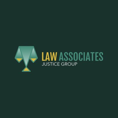 Law Logo Maker for a Law Firm 1852d