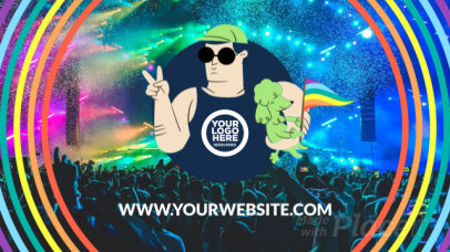 Logo Reveal Intro Maker for LGBTQ Pride Month 1511