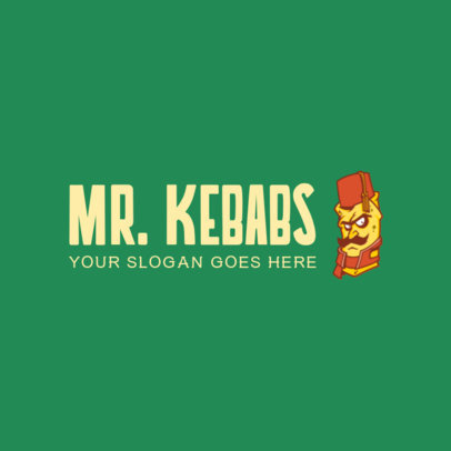 Online Logo Maker for a Kebab Restaurant 1029e