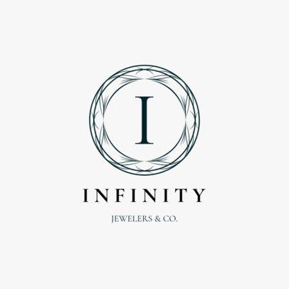 Lavish Jewelry Logo Maker for a Classic Jewelry Store 2190e