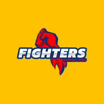 Logo Maker for Fighting Games 1873