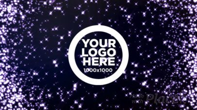 Intro Maker for a Logo Reveal Video with Dynamic Particles Animation 1592