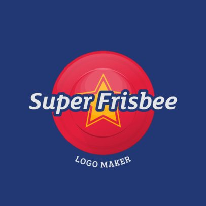 Sports Logo Generator for a Frisbee Team 2224